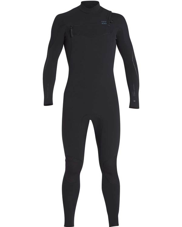 0 5/4 Furnace Carbon Chest Zip Gbs Fullsuit Wetsuit Negro L45M03BIF8 Billabong