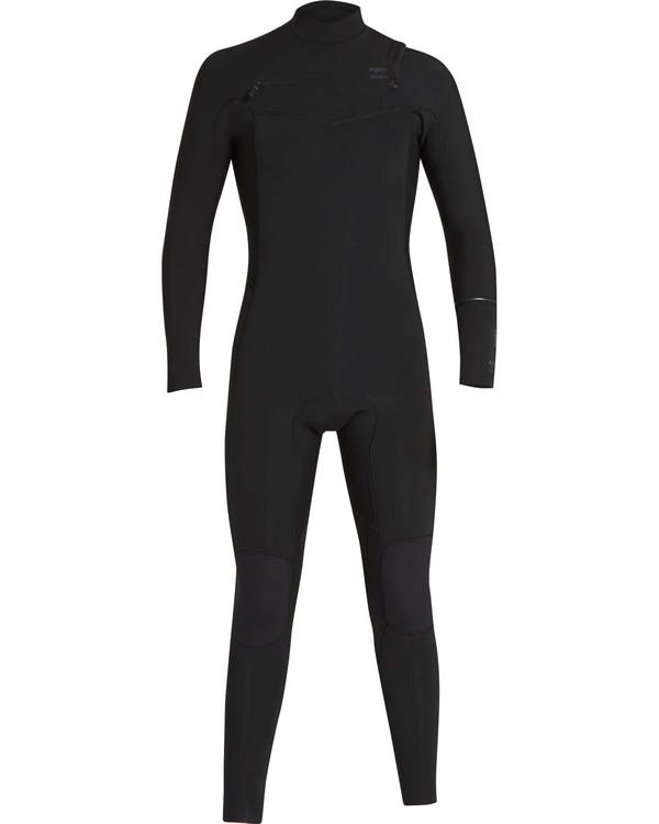 0 5/4 Furnace Revolution Chest Zip Wetsuit Noir L45M06BIF8 Billabong