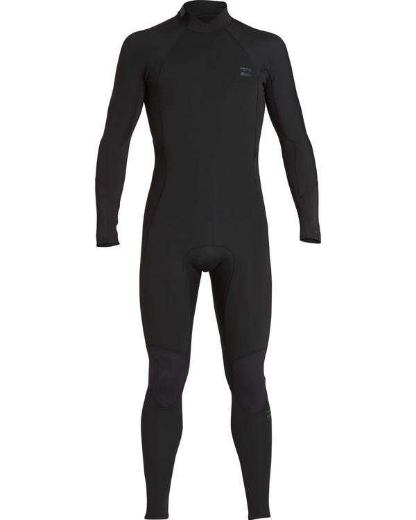 0 5/4 Furnace Absolute Back Zip Gbs Fullsuit Wetsuit Schwarz L45M10BIF8 Billabong