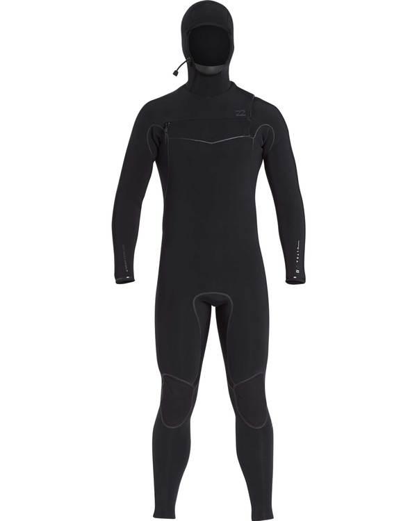 0 5/4 Furnace Carbon Ultra Hooded Fullsuit Wetsuit Noir L45M20BIF8 Billabong