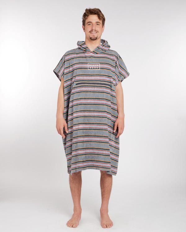 0 Hooded Poncho Towel Bleu L4BR11BIF8 Billabong