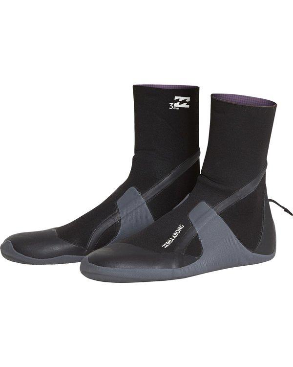0 Boys 3Mm Furnace Absolute Round Toe Boot Negro L4BT24BIF8 Billabong