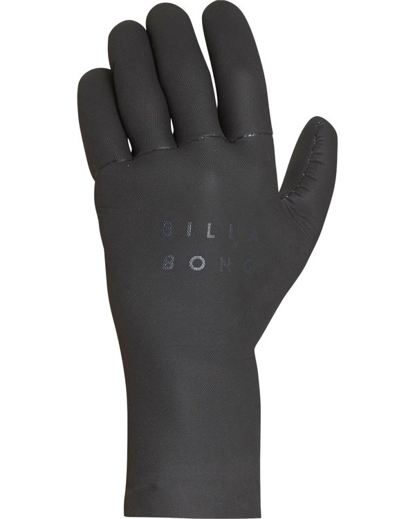 0 3Mm Absolute 5 Finger Glove Black L4GL07BIF8 Billabong