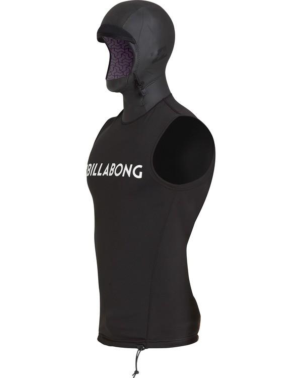0 Furnace Thermal Hooded Vest Noir L4PY01BIF8 Billabong