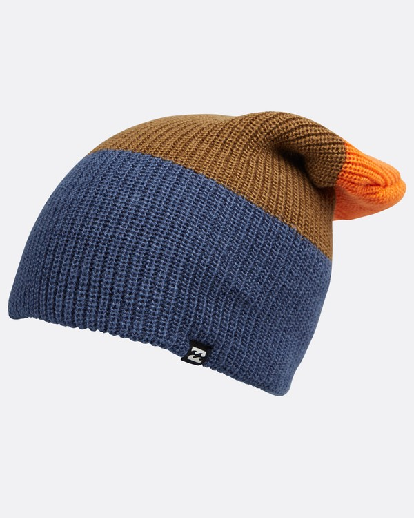 0 All Day Tall Block Beanie Blau L5BN02BIF8 Billabong