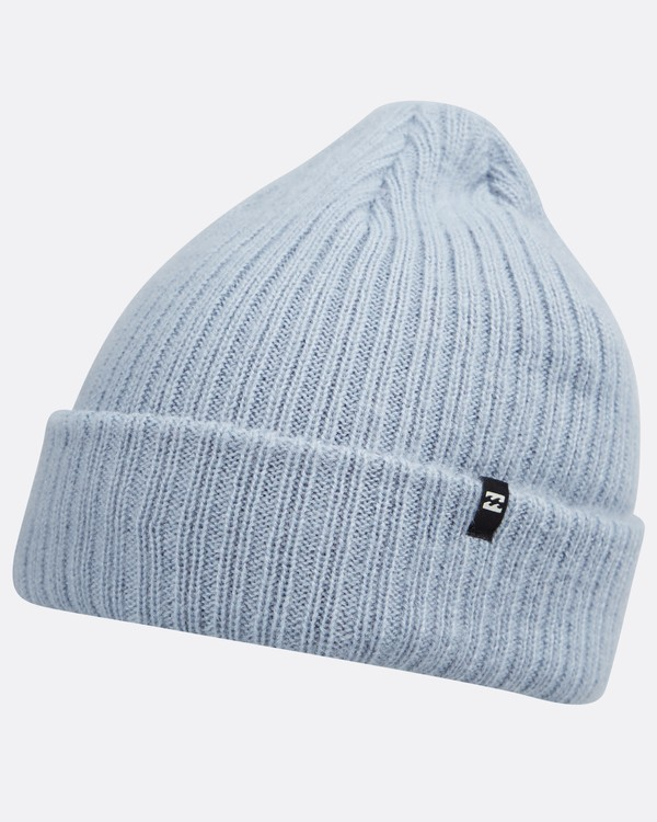 0 Arcade Wave Washed Beanie Blau L5BN03BIF8 Billabong