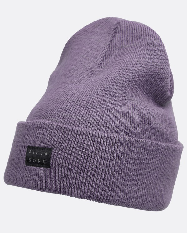 0 Disaster Beanie Purple L5BN06BIF8 Billabong