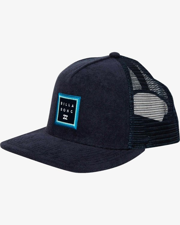 0 Stacked Trucker Hat Blue L5CT02BIF8 Billabong