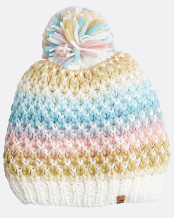 0 Snowball Womens Snow Beanie White L6BN01BIF8 Billabong