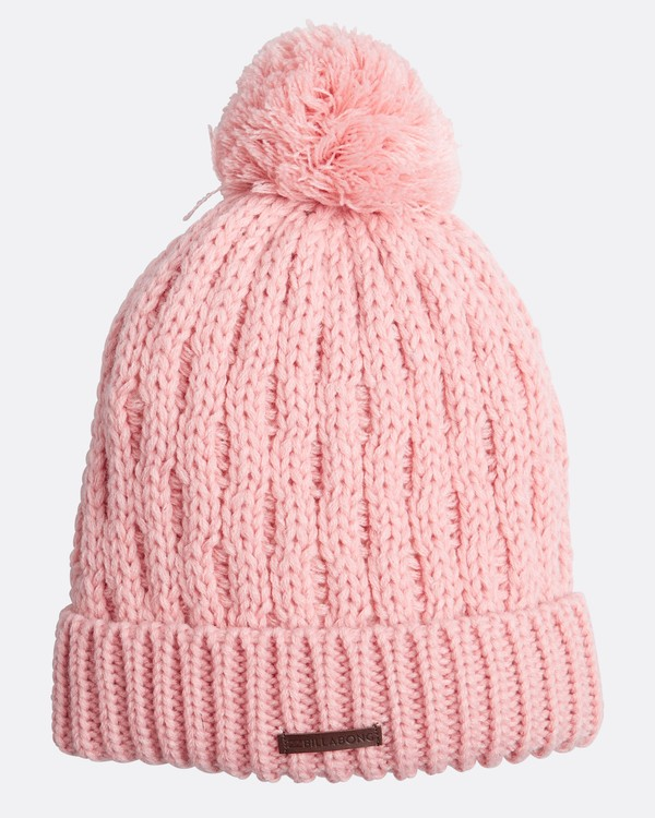 0 Good Vibes Only Snow Beanie Rose L6BN03BIF8 Billabong
