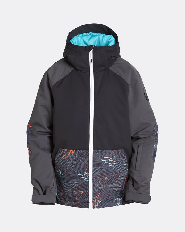 0 Boys All Day Snow Jacket Schwarz L6JB01BIF8 Billabong