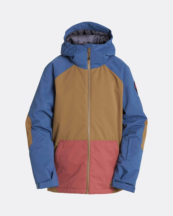 0 Boys All Day Snow Jacket Gelb L6JB01BIF8 Billabong