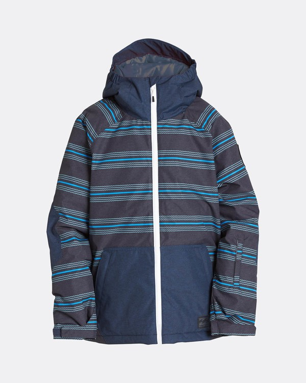 0 Boys All Day Snow Jacket Blau L6JB01BIF8 Billabong