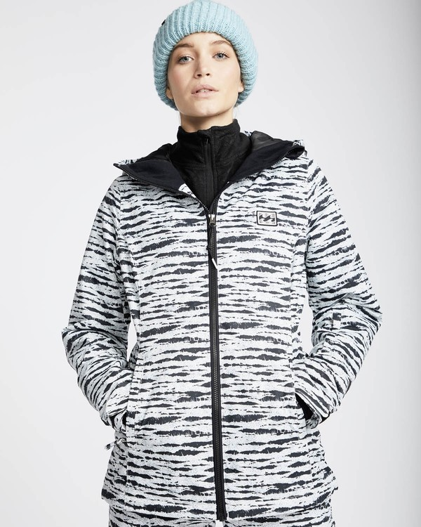 0 Sula Printed Snow Jacket Negro L6JF02BIF8 Billabong