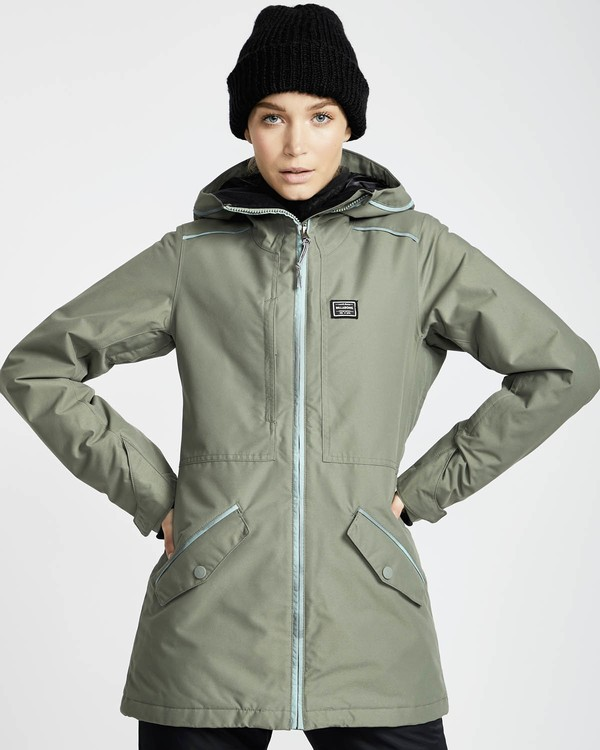 0 Jara 10K Snow Jacket Grün L6JF04BIF8 Billabong