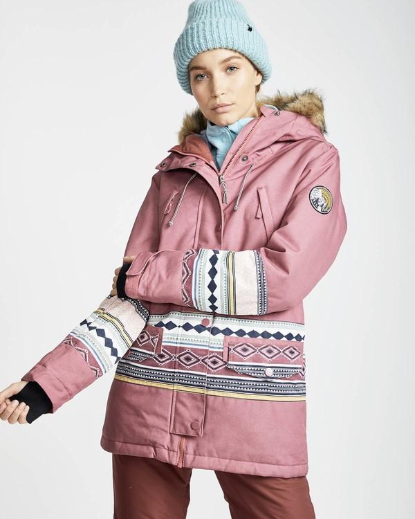 0 Nora 10K Primaloft Snow Jacket Rojo L6JF05BIF8 Billabong