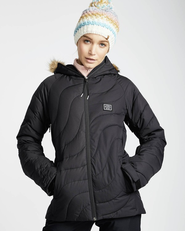 0 Soffya 10K Snow Jacket Negro L6JF08BIF8 Billabong