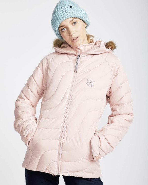 0 Soffya 10K Snow Jacket Rosa L6JF08BIF8 Billabong
