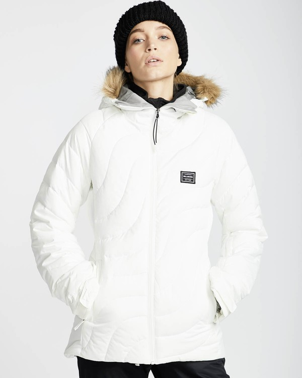 0 Soffya 10K Snow Jacket Weiss L6JF08BIF8 Billabong