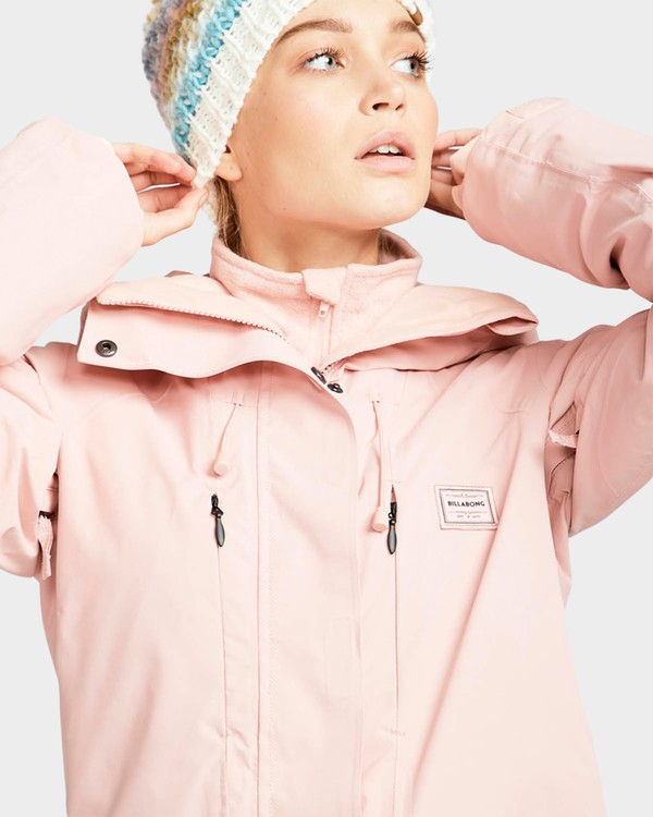 0 DALIA INS JKT Pink L6JF10S Billabong