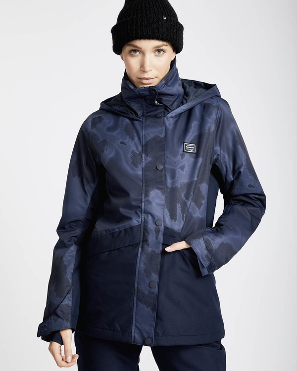 0 Kayla 10K Snow Jacket Marron L6JF11BIF8 Billabong