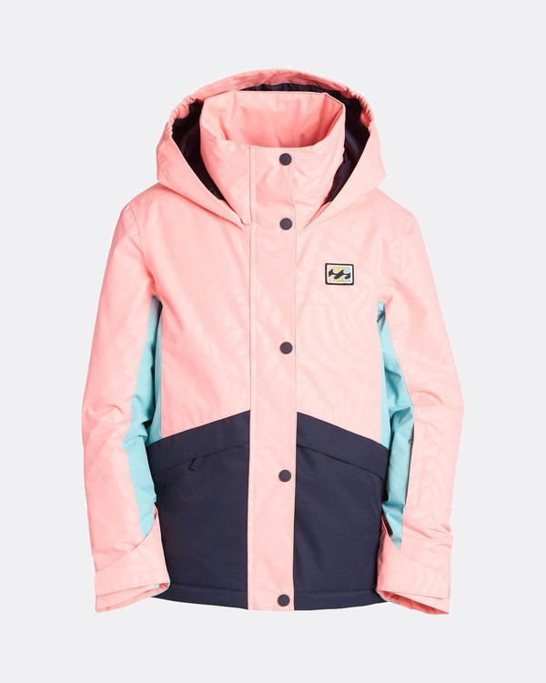 0 Teen Girls Kayla 10K Snow Jacket Rosa L6JG01BIF8 Billabong