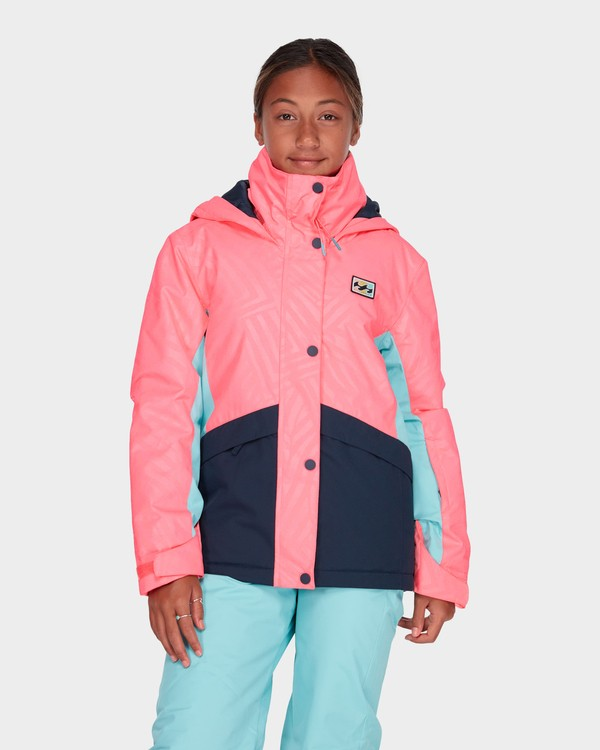 0 TEEN KAYLA SNOW JACKET Pink L6JG01S Billabong