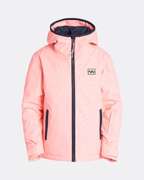 0 Teen Girls Sula 10K Snow Jacket Rose L6JG02BIF8 Billabong