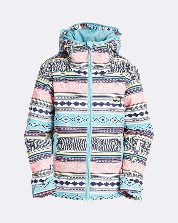 0 Teen Girls Sula 10K Snow Jacket Blau L6JG02BIF8 Billabong
