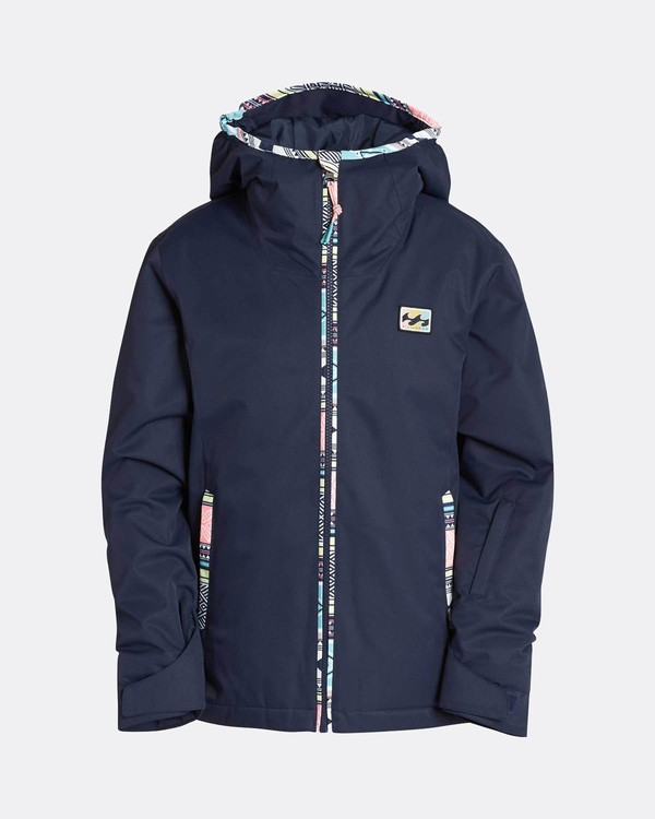 0 Teen Girls Sula 10K Snow Jacket Blau L6JG02BIF8 Billabong