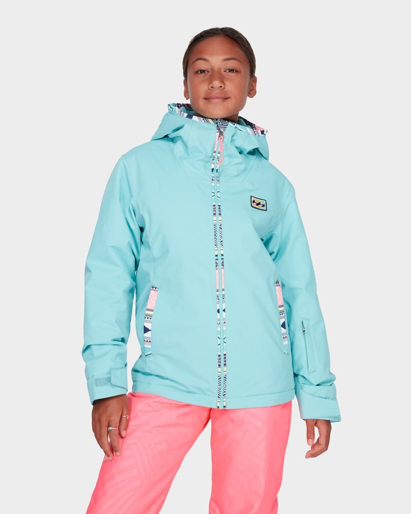 0 TEEN GIRLS SULA JACKET Blue L6JG02S Billabong