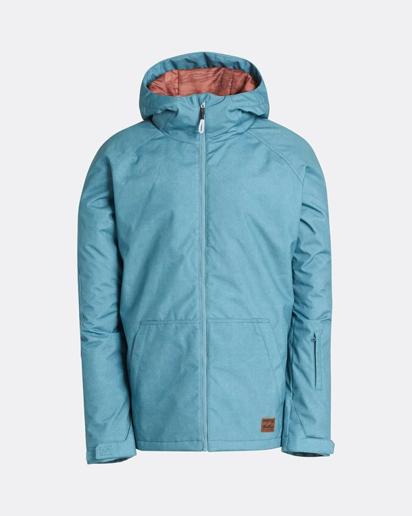 0 All Day 10K Snow Jacket Azul L6JM01BIF8 Billabong