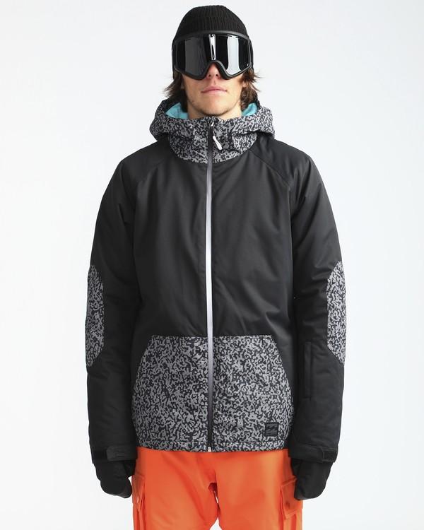 0 All Day 10K Snow Jacket Grau L6JM01BIF8 Billabong