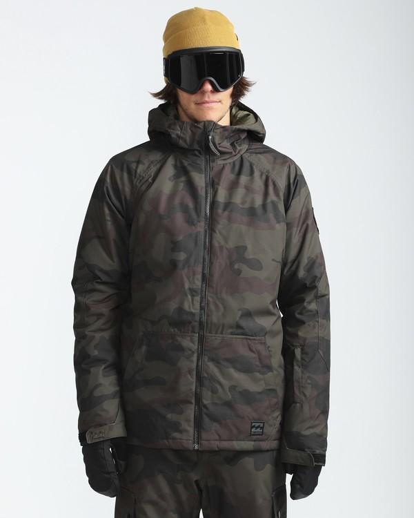 0 All Day 10K Snow Jacket Gemustert L6JM01BIF8 Billabong