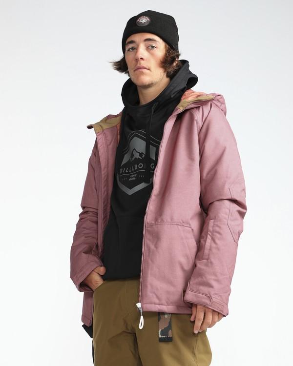 0 All Day 10K Snow Jacket Marron L6JM01BIF8 Billabong