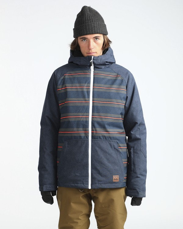 0 All Day 10K Snow Jacket Blau L6JM01BIF8 Billabong