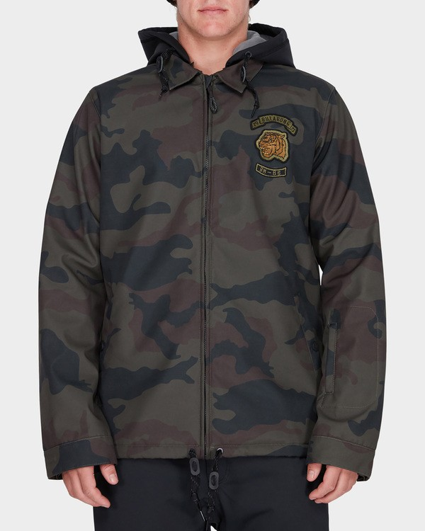 0 FASTPLANT SNOW JACKET Camo L6JM02S Billabong