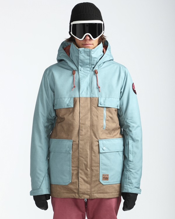 0 Craftman 10K Snow Jacket Azul L6JM03BIF8 Billabong