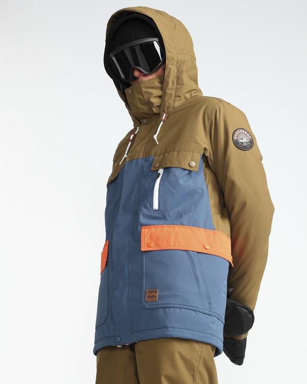 0 Craftman 10K Snow Jacket Azul L6JM03BIF8 Billabong