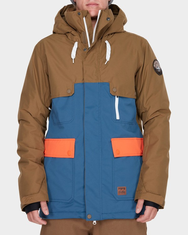 0 CRAFTMAN SNOW JACKET Blue L6JM03S Billabong