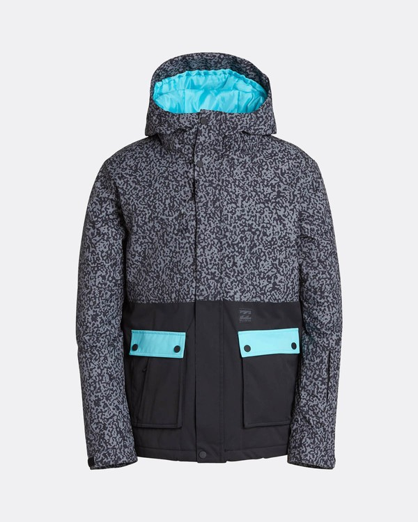 0 Fifty50 10K Snow Jacket Gris L6JM04BIF8 Billabong