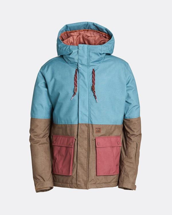 0 Fifty50 10K Snow Jacket Blau L6JM04BIF8 Billabong