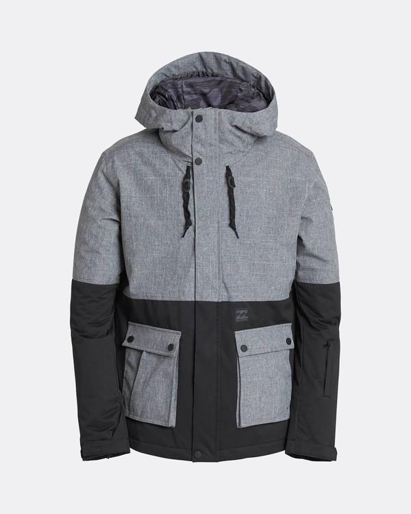 0 Fifty50 10K Snow Jacket Gris L6JM04BIF8 Billabong
