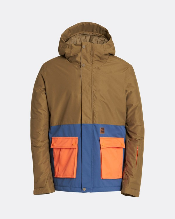 0 Fifty50 10K Snow Jacket Blue L6JM04BIF8 Billabong