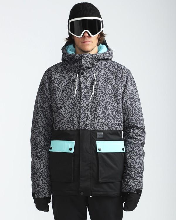 0 Fifty50 10K Snow Jacket Grau L6JM04BIF8 Billabong