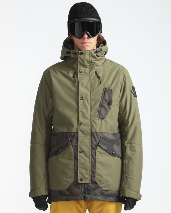 0 Adversary 10K Primaloft Snow Jacket Camo L6JM05BIF8 Billabong