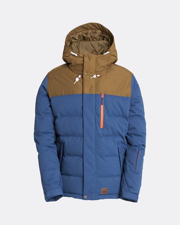 0 Glacier Puffer 10K Snow Jacket Blau L6JM07BIF8 Billabong