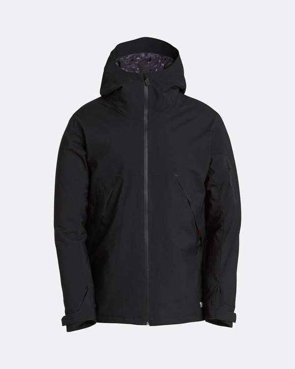 0 Expedition 15K Stretch Snow Jacket Black L6JM08BIF8 Billabong