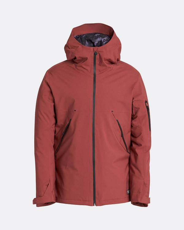 0 Expedition 15K Stretch Snow Jacket Marron L6JM08BIF8 Billabong