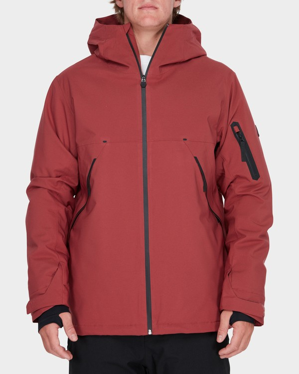 0 EXPEDITION SNOW JACKET Brown L6JM08S Billabong